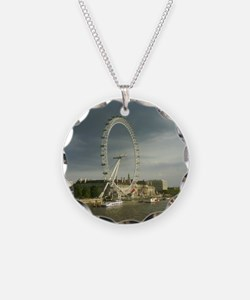 nice shot of london eye Necklace
