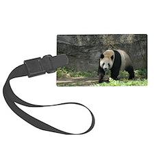 china panda. Luggage Tag