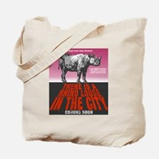 rhinolooseinthecity Tote Bag