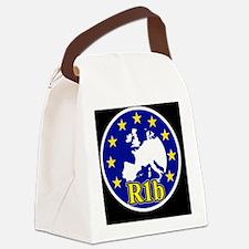 krug_black1 Canvas Lunch Bag