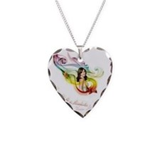 Lisa shirt Necklace Heart Charm