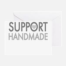 Support handmade 1 light Greeting Card