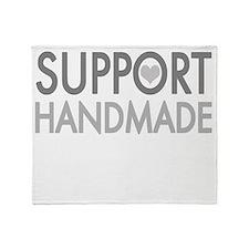 Support handmade 1 light Throw Blanket