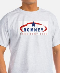 Mitt Romney for President (ri Ash Grey T-Shirt