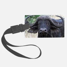 buffalo panel Luggage Tag