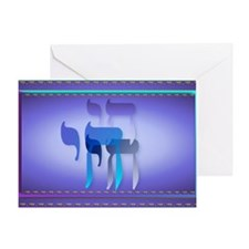 Wall Peel Chai Greeting Card