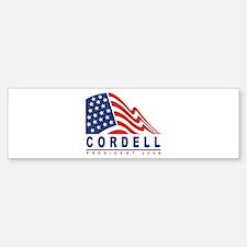 Don Cordell - President 2008 Bumper Bumper Bumper Sticker