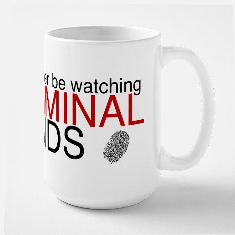 Watch Criminal Minds Large Mug
