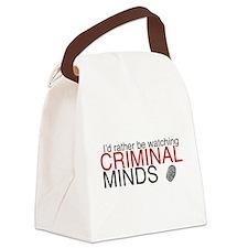 Watch Criminal Minds Canvas Lunch Bag