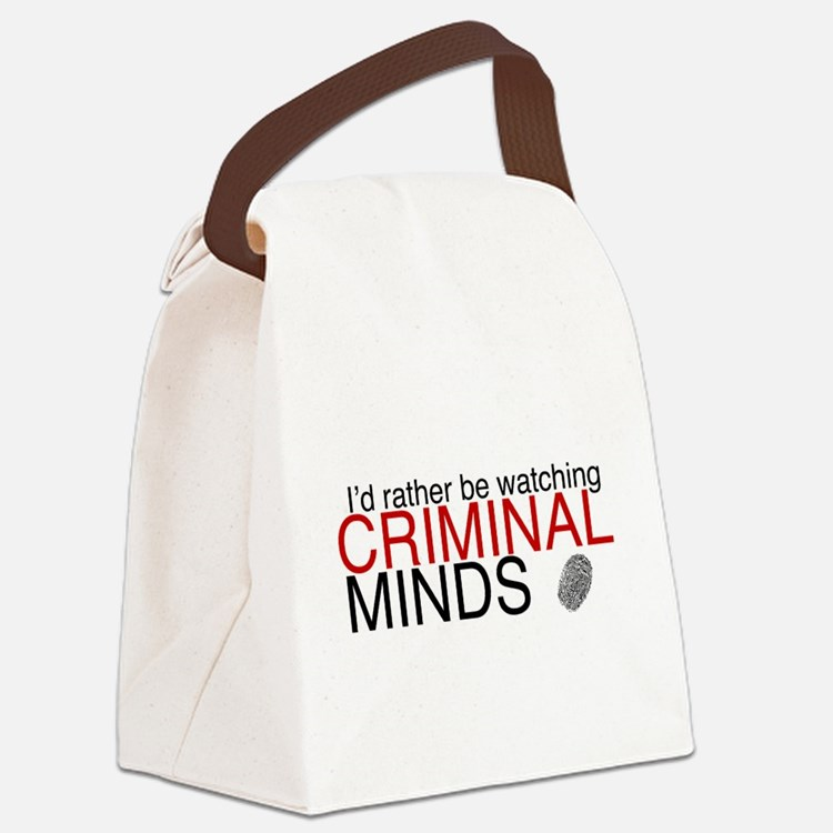 Watch Criminal Minds Canvas Lunch Bag