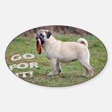 PUG GREETING CARD ANY OCCASION  Decal