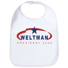 Lisa Weltman for President (r Bib