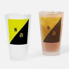 ac_flag_square3 Drinking Glass
