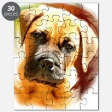 mastiff puppy portrait Puzzle