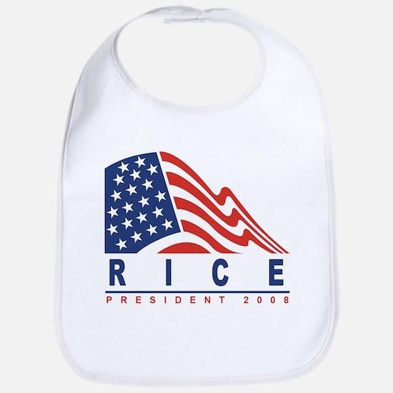 Condoleeza Rice - President 2 Bib