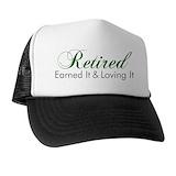 Retirement Trucker Hats