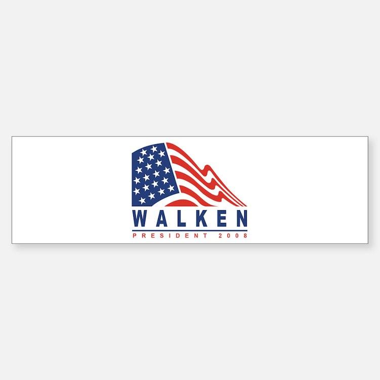 Christopher Walken - Presiden Bumper Bumper Bumper Sticker