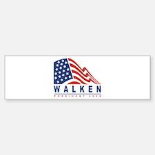 Christopher Walken - Presiden Bumper Car Car Sticker