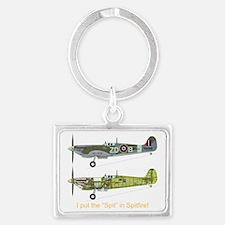 SpitfireBib Landscape Keychain