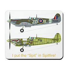 SpitfireBib Mousepad