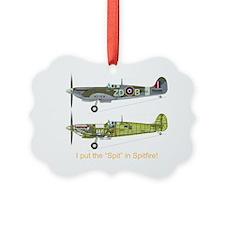 SpitfireBib Ornament