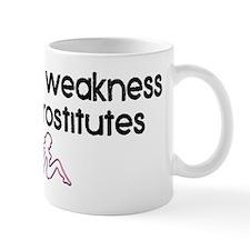 weakness Mug