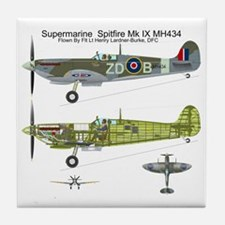 SpitfireBib Tile Coaster