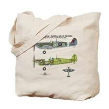 SpitfireBib Tote Bag