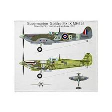 SpitfireBib Throw Blanket