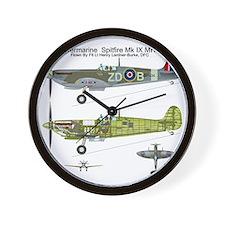 SpitfireBib Wall Clock