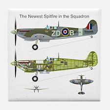 SpitfireOnePiece Tile Coaster
