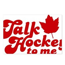 Talk Hockey To Me 2W Postcards (Package of 8)
