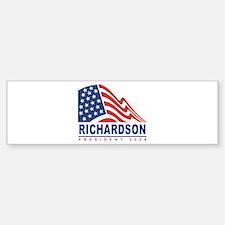 Bill Richardson - President 2 Bumper Bumper Bumper Sticker