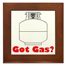 got gas Framed Tile