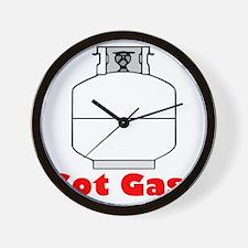 got gas Wall Clock