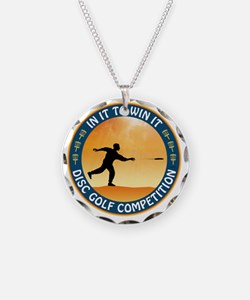 june11_discgolf_competition Necklace