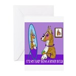 Boxer Bitch Greeting Cards (Pk of 10)