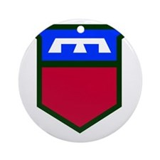 76th Infantry Division Round Ornament