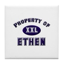 Property of ethen Tile Coaster