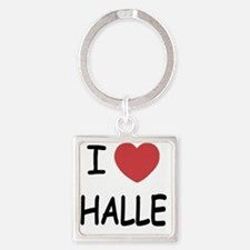 HALLE Square Keychain