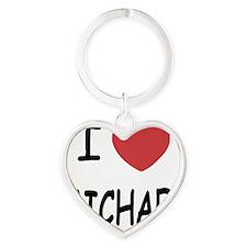 MICHAEL Heart Keychain