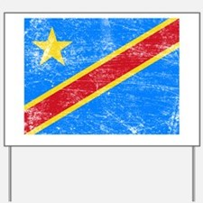 Democratic Republic of the Congo Yard Sign