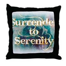 surrender2serenity1 Throw Pillow