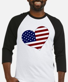 usa heart Baseball Jersey