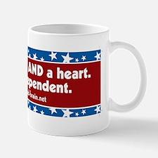 Brain and a Heart, ver 1 Mug