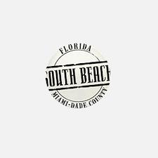 South Beach Title W Mini Button