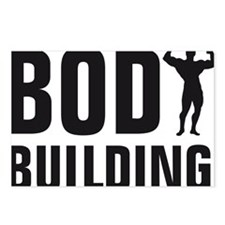 bodybuilding Postcards (Package of 8)
