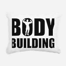 bodybuilding Rectangular Canvas Pillow
