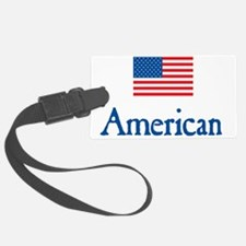 American Under FLAG Luggage Tag