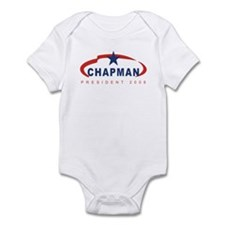 Gene Chapman for President (r Infant Bodysuit